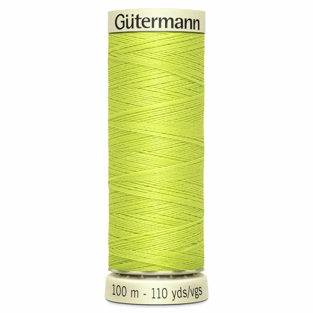 Sew All Polyester Sewing Thread Colour 334 Chartreuse