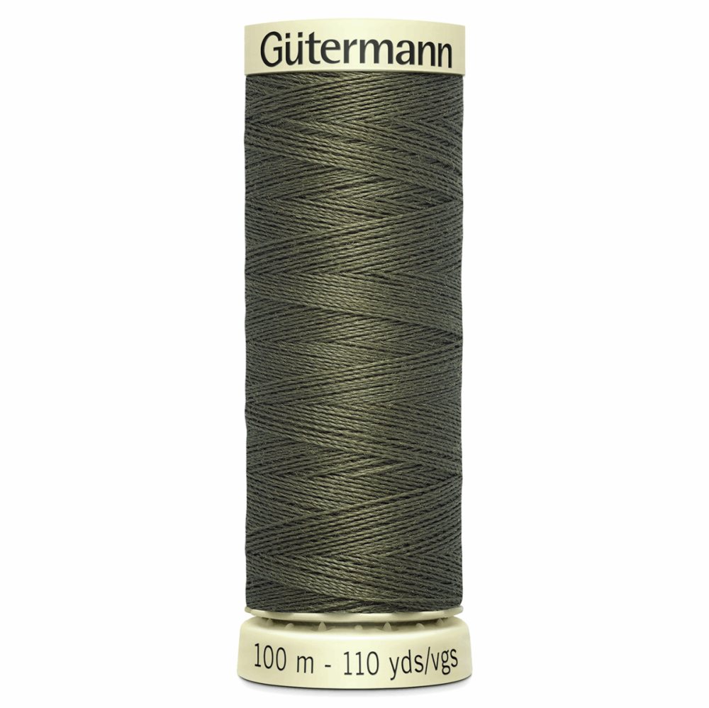 Sew All Polyester Sewing Thread Colour 676 Dark Khaki