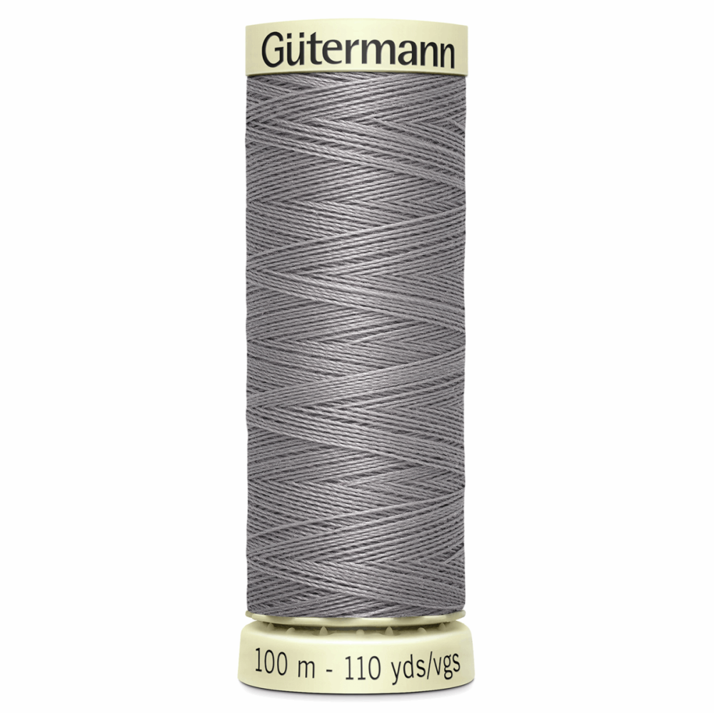 Sew All Polyester Sewing Thread Colour 493 Silver Grey