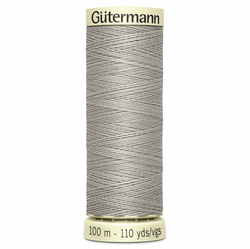 Sew All Polyester Sewing Thread Colour 118 Pastel Grey