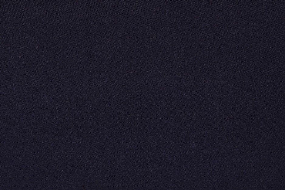 Viscose Twill Navy Fabric