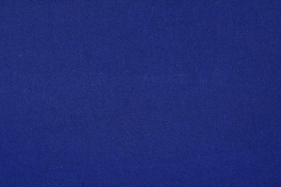 Viscose Twill Royal Blue Fabric