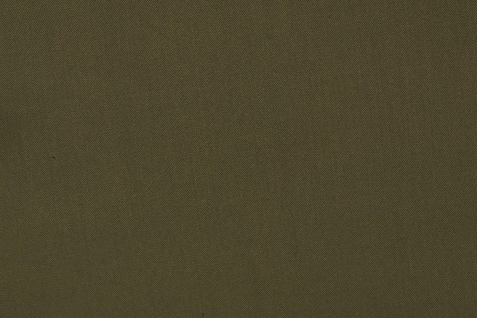 Viscose Twill Deep Khaki Fabric