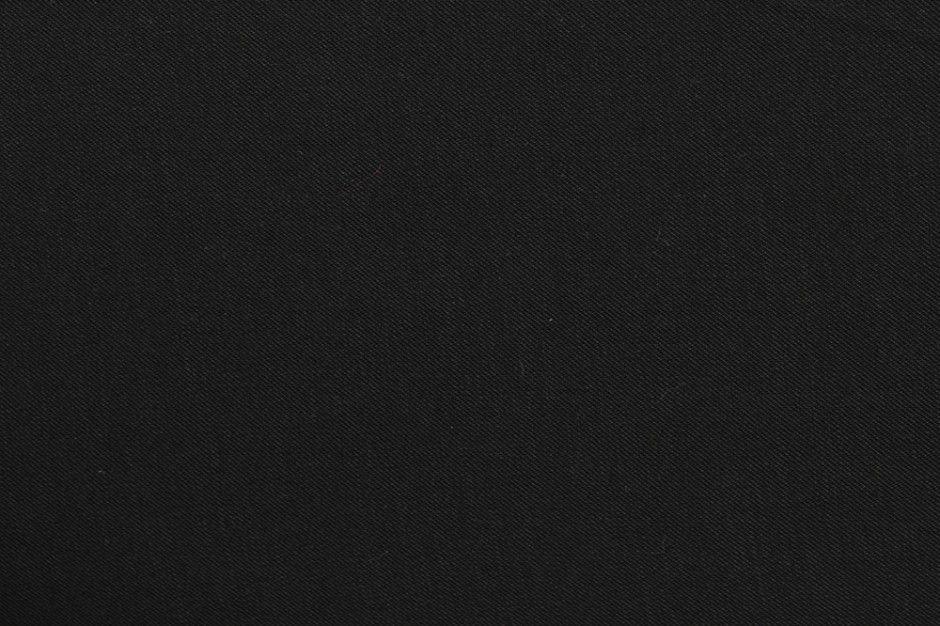 Viscose Twill Black Fabric