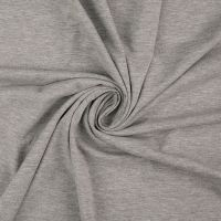Cotton Jersey Fabric Light Grey