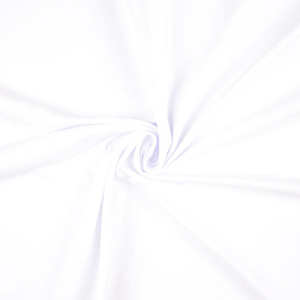 Cotton Jersey Fabric White