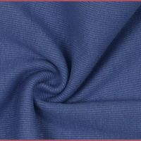 Tubular Ribbing Fabric Denim Blue
