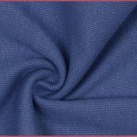 Tubular Ribbing Fabric Denim Blue