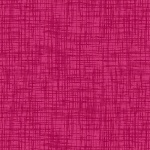 Makower Linea Texture Berry Cotton Fabric