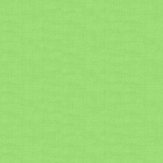 Makower Linen Pistachio Cotton Fabric