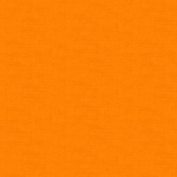 Makower Linen Orange Cotton Fabric