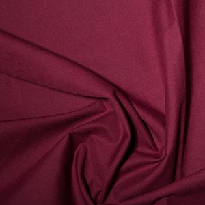 PolyCotton Fabric Wine