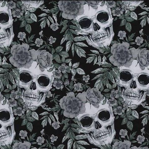 Cotton Poplin Skeleton
