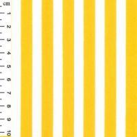Cotton Poplin Stripes Yellow