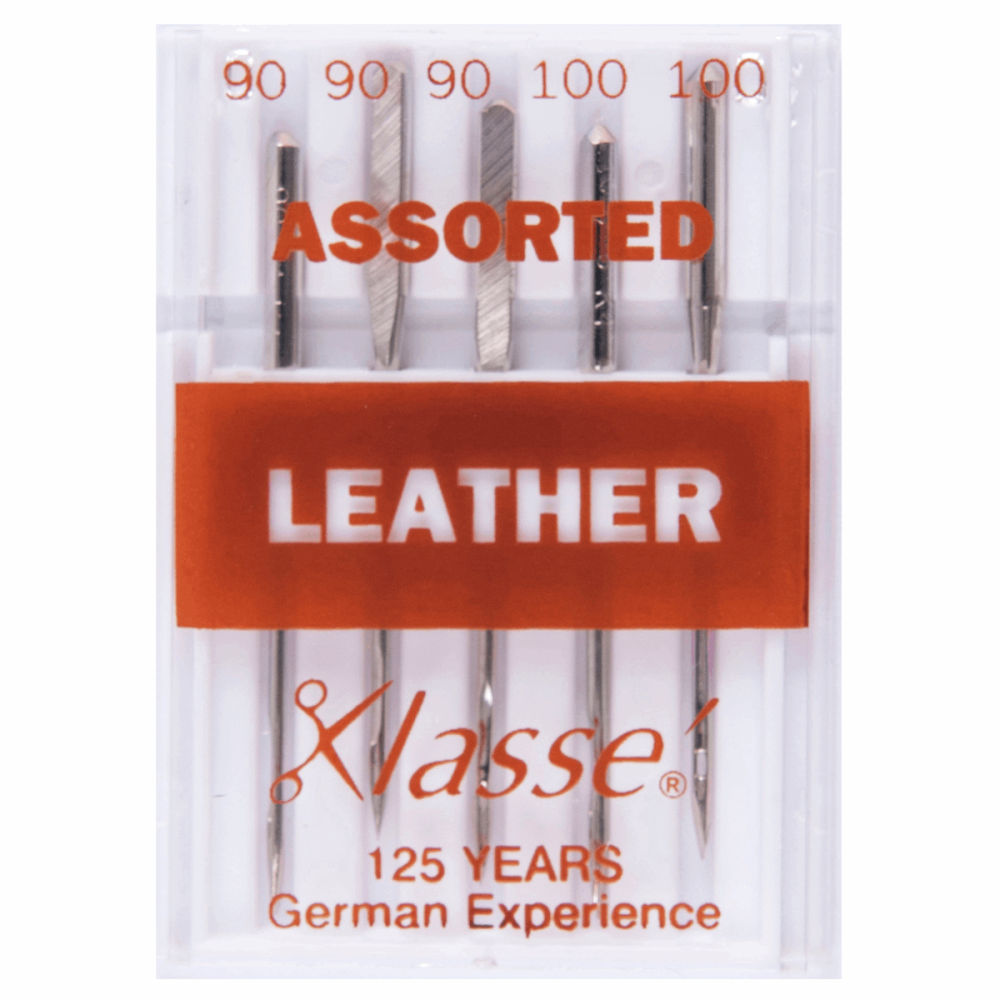 Hemline Leather Machine Needles Assorted