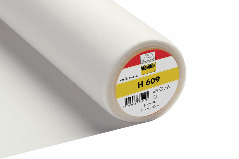 H609 Vlieseline Interfacing for Knit Fabrics Iron On