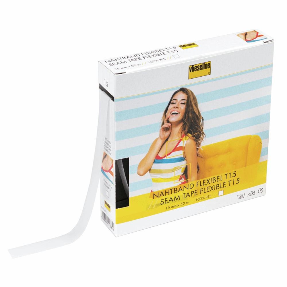 Vlieseline Flexi Seam Tape 15mm