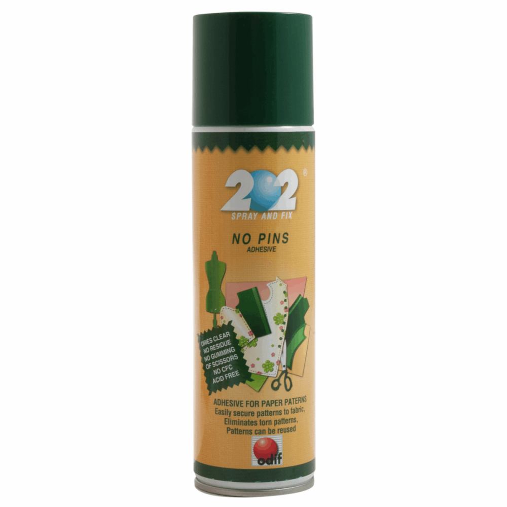202 No Pins Adhesive