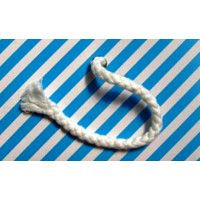 Piping Cord No:4 7mm White