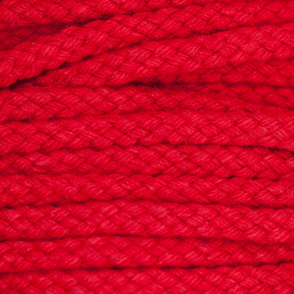 Drawstring Cord Red 5mm