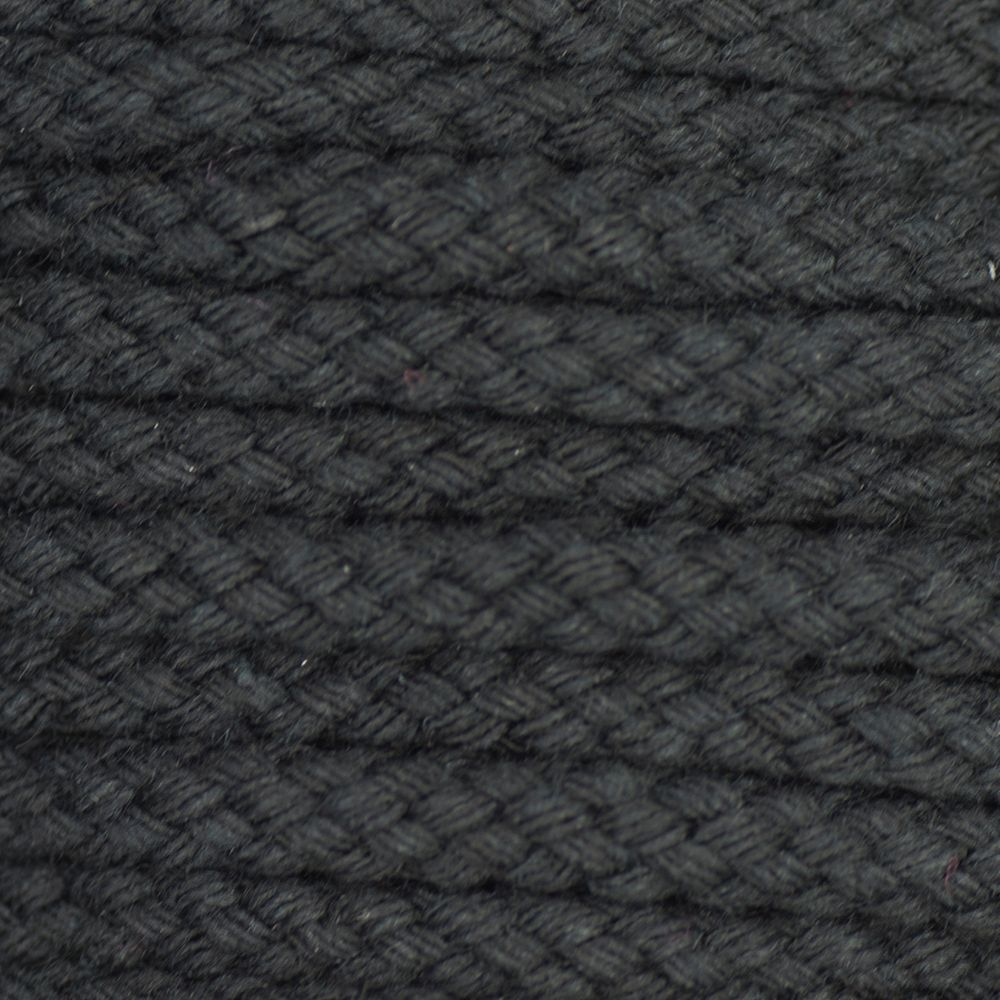 Drawstring Cord Black 5mm
