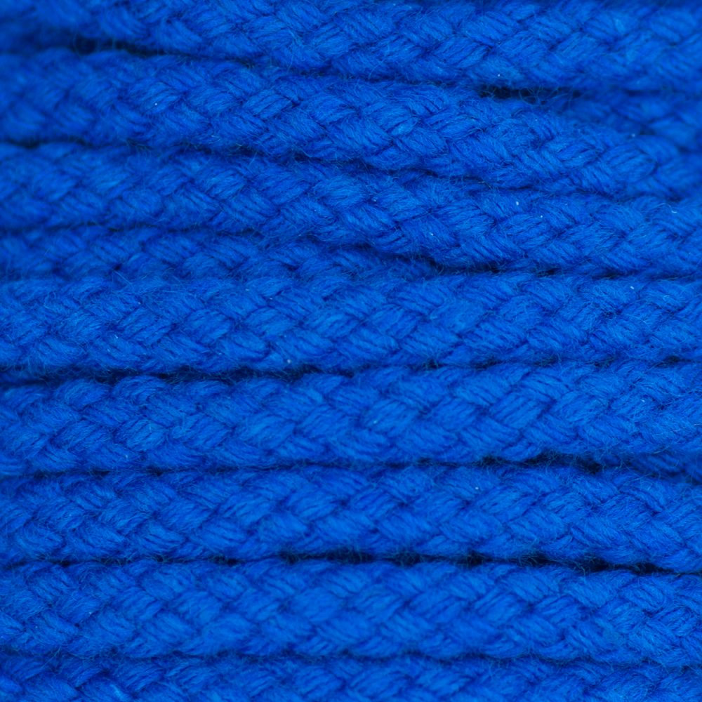 Drawstring Cord Blue 5mm