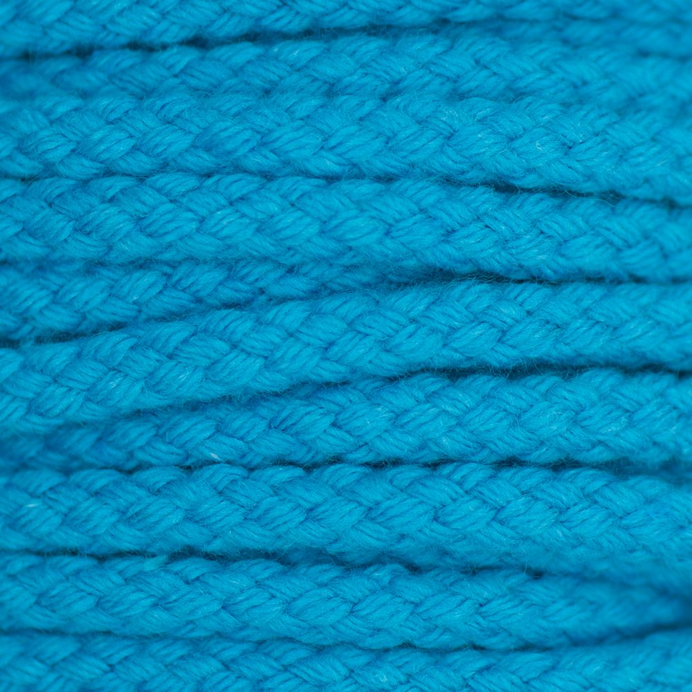 Drawstring Cord Turquoise  5mm