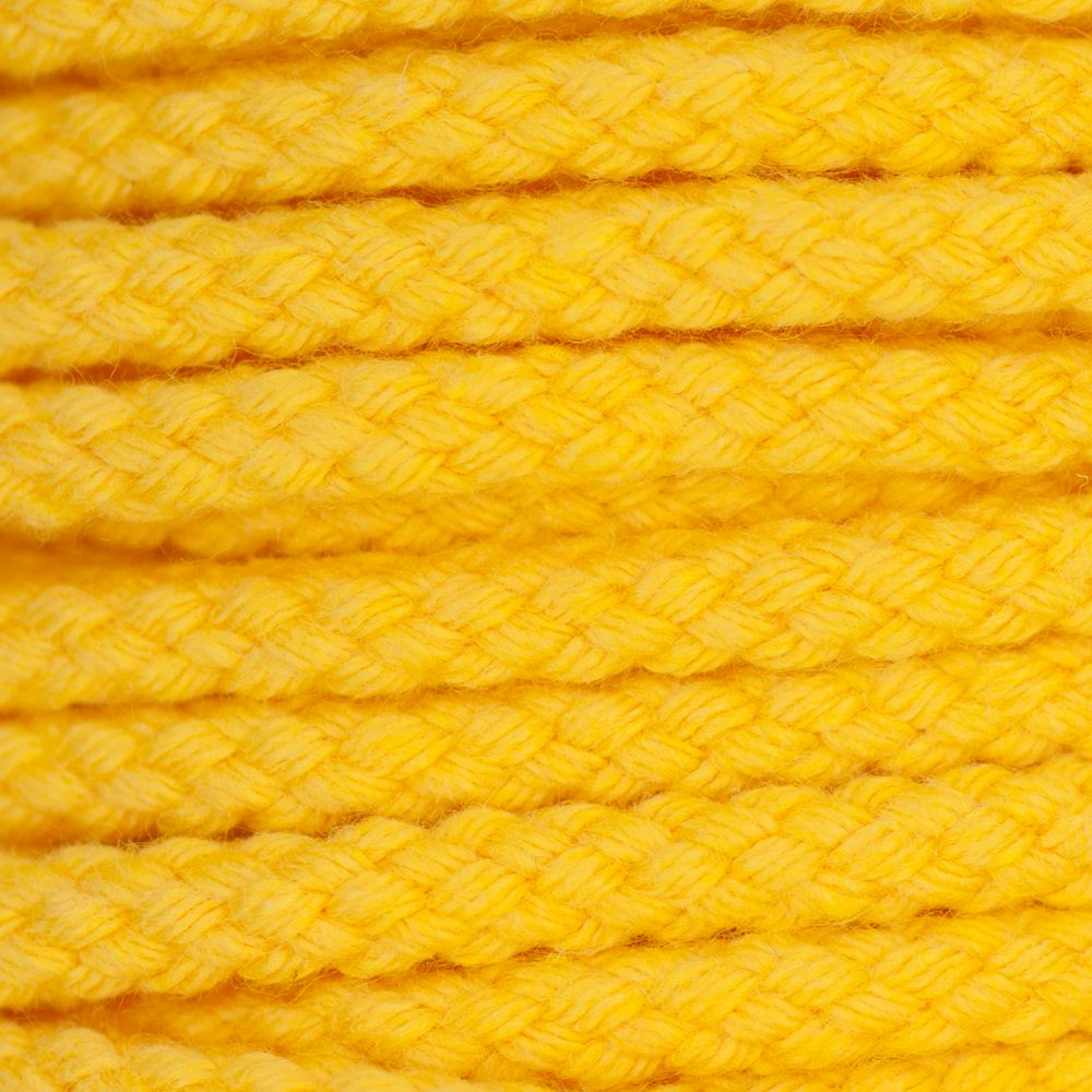 Drawstring Cord Yellow 5mm