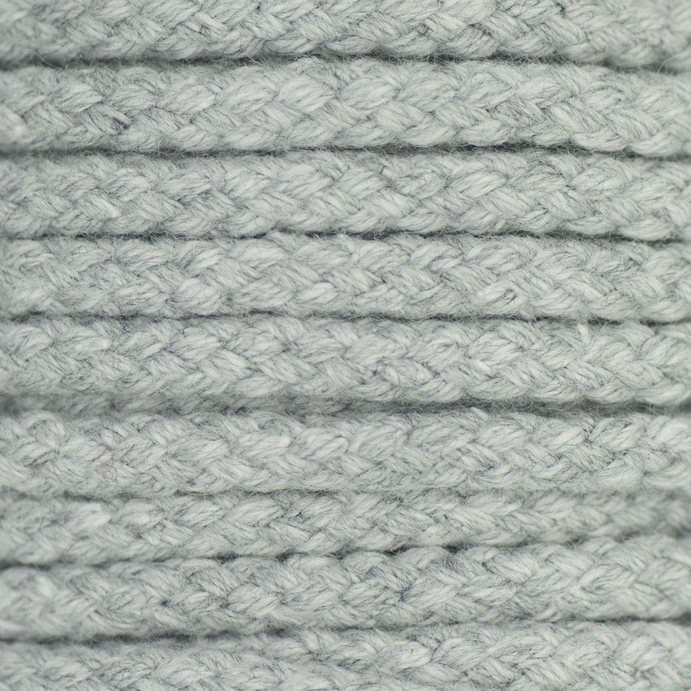 Drawstring Cord Grey 5mm