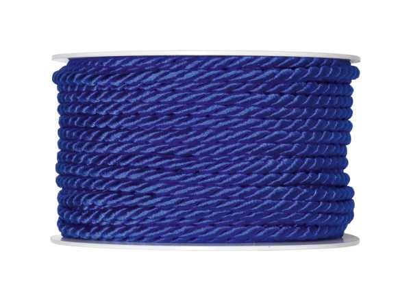 4mm Twisted Rayon Cord Royal Blue