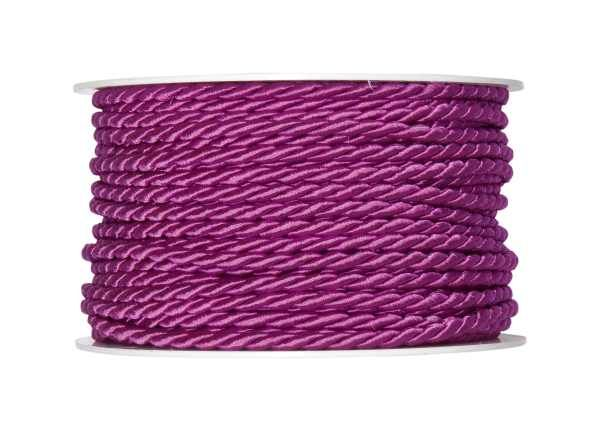 4mm Twisted Rayon Cord Fuchsia