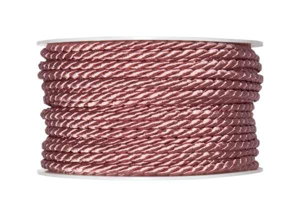 4mm Twisted Rayon Cord Dusty Pink