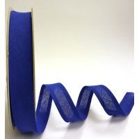 Bias Binding 25mm Cotton Royal Blue