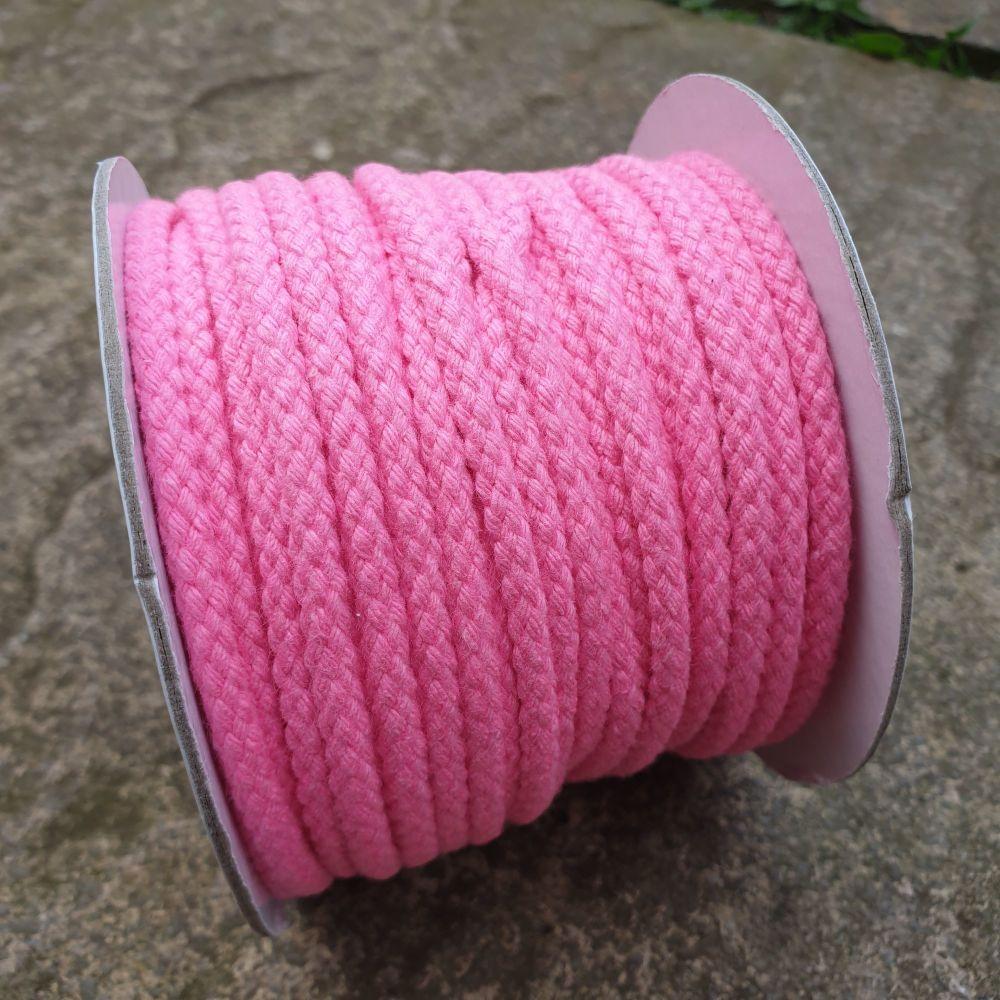 Drawstring Cord Pink 5mm