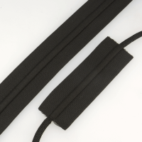 Elastic With Cord Black 38mm