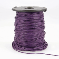 Faux Leather Cord 1mm Violet