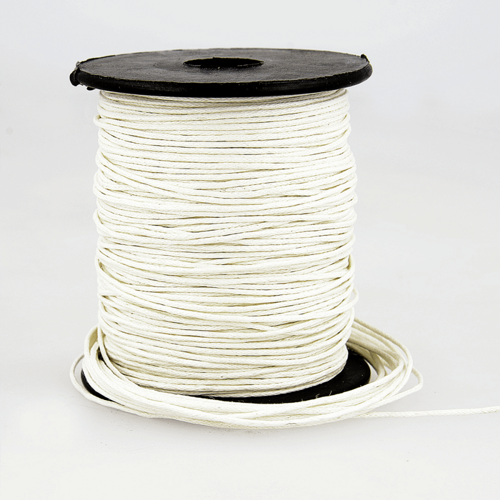 Faux Leather Cord 1mm White