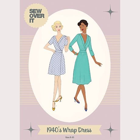 Sew Over It 1940s Wrap Dress