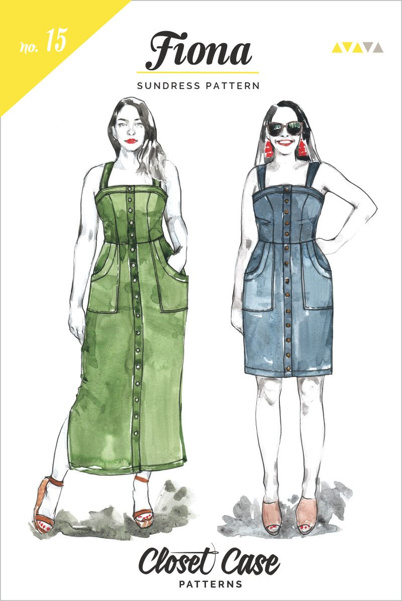 Closet Case Fiona Sun Dress Pattern
