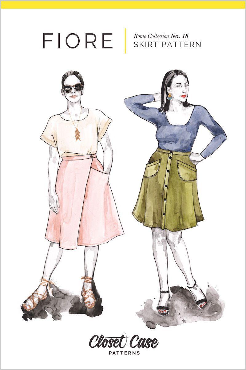 Closet Case Fiore Skirt Pattern