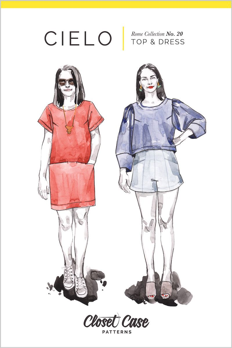 Closet Case Cielo Top & Dress Pattern