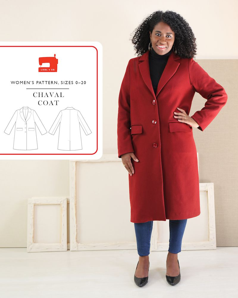 Liesl & Co Chaval Coat Pattern