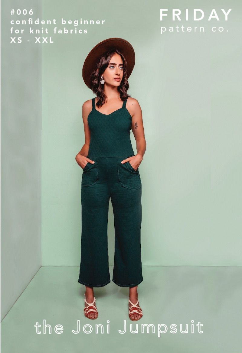 Friday Pattern Company Joni Jumpsuit Sewing Pattern