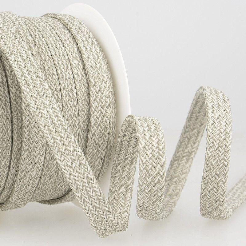 Tubular Braid Cord Grey