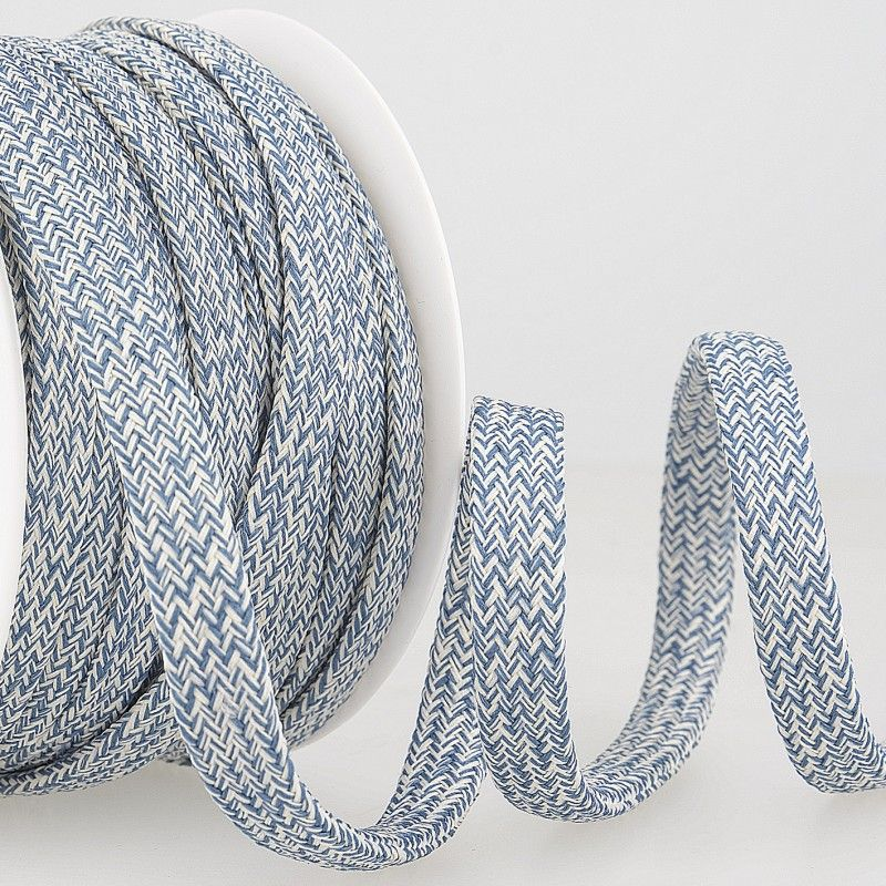 Tubular Braid Cord Blue 10mm