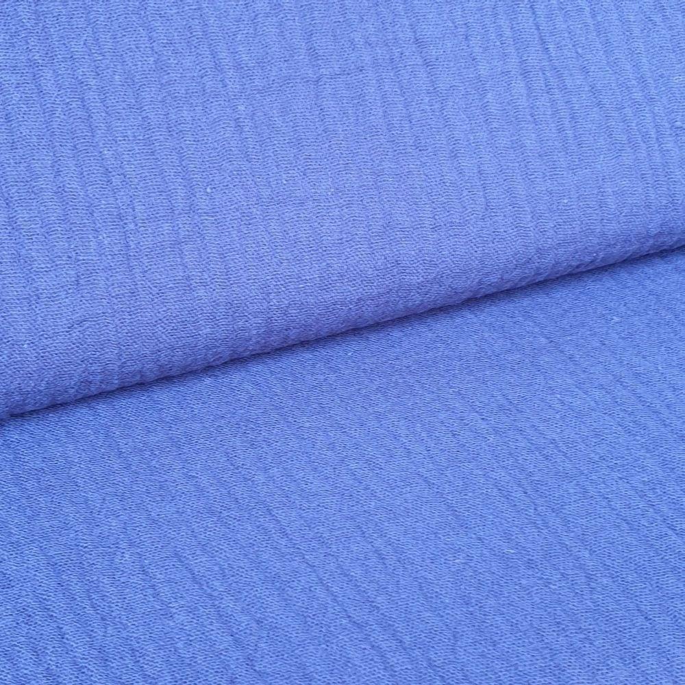 Blue Double Gauze Fabric
