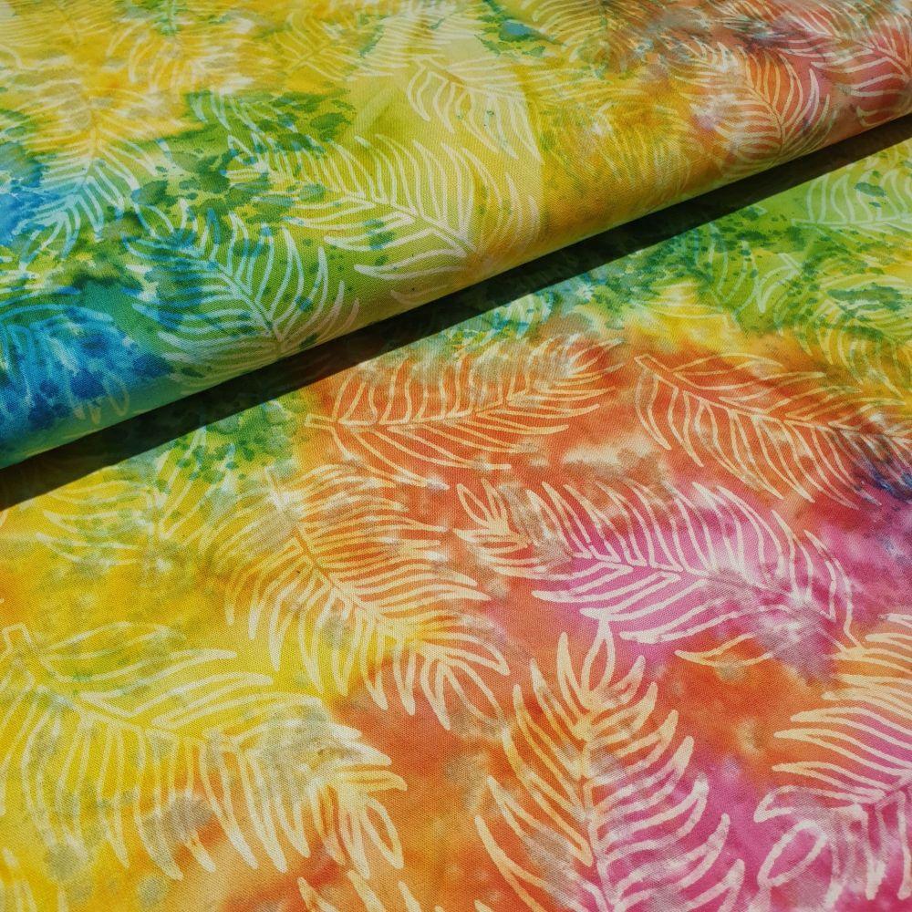 John Louden Batik Cotton Fabric Col 111