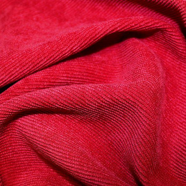 Soft Stretch Corduroy Red