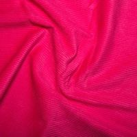 Cotton Needlecord Corduroy Fuschia