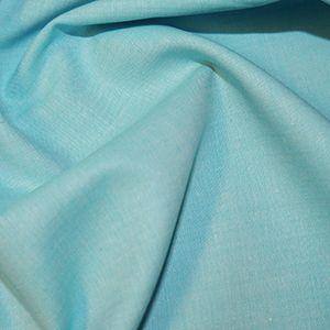 Chambray Fabric Aqua